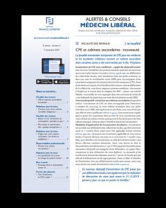Alertes & Conseils Médecin Libéral