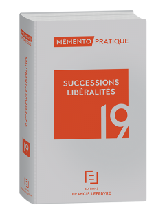 mémento successions libéralités 19