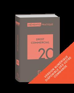 Mémento Droit commercial 2020