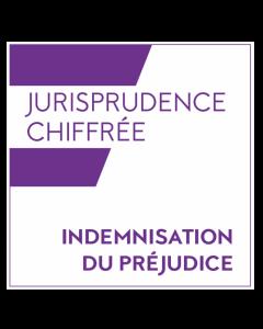Jurisprudence chiffrée - indemnisation du préjudice