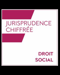 Jurisprudence chiffrée - Droit social
