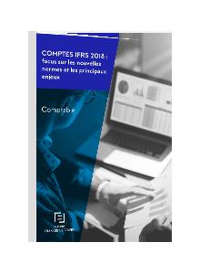 LIVRE BLANC - Comptes IFRS 2018 : focus sur les nouvelles normes et les principaux enjeux