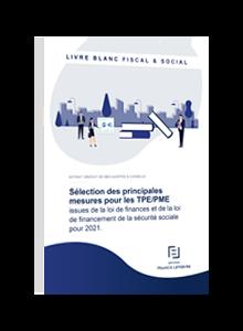 LIVRE BLANC - LF 2021 & LFSS 2021 : les principales mesures pour les TPE/PME
