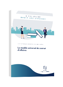 LIVRE BLANC - Le modèle universel de contrat d'affaires