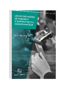 LIVRE BLANC - Les divers modes de paiement à disposition du consommateur